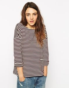 If you asked my friends, they'd say I'm addicted to stripes right now. It must be true as I have two striped items in my daily picks already!  Find this cool jumper here: http://asos.to/1oxns4C