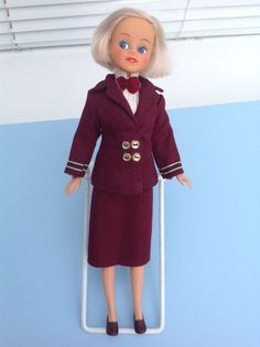 Vintage Mary Quant Daisy Doll Air Stewardess 16+4.99