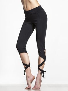 Turnout Legging in Black by Free People Movement from Carbon38