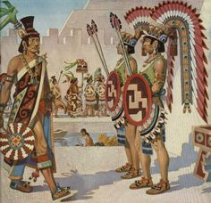 Mexican (Mexica) guards