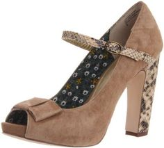 Seychelles Women's Fifth Wheel Open-Toe Pump