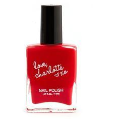 love, charlotte xo Nail Polish ($3.50) found on Polyvore
