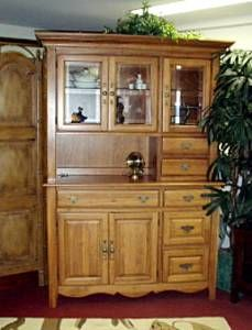 Marvelous China Cabinet,Beautiful, All Natural REAL SOLID CHERRY Perfect   $295 (San
