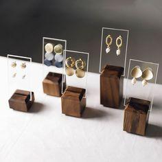 Woodworking Wood Earrings Stand Earring Card Holder Earrings Organizer Stud Holder Earring Display Stand Craft S.Woodworking Wood Earrings Stand Earring Card Holder Earrings Organizer Stud Holder Earring Display Stand Craft S Jewelry Organizer Stand, Jewelry Stand, Jewelry Holder, Jewelry Organization, Jewelry Booth, Earring Holders, Necklace Holder, Earring Display Stands, Necklace Display