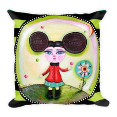 NEW! cookie puss pillow! made and shipped in days!