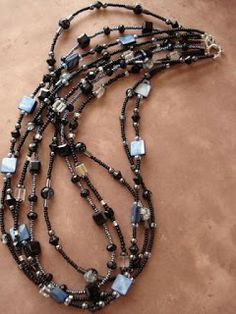 MultiStrand Necklaces Anyone? Some Cool Ideas and Tutorials - The Beading Gem's Journal