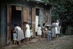 Clinica Castañer, Lares, PR 1949