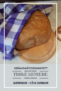 Megjelent Tibike szénhidrátcsökkentett kenyerének receptje. Ez lehetővé teszi a kenyér fogyasztását diétázók számára is. Ez lehetővé teszi a kenyér fogyasztását a diétázók számára is, hiszen egy vekni kenyérben (570 gramm) mindössze 18,7 gramm szénhidrát található 100 grammonként.  Válassz az alapanyagcsomagokból (S, XL) a hivatkozásra kattintva, és készítsd el otthon!   #diéta #szénhidrátcsökkentett #kenyer #lowcarb #fogyókúra #vitanectar Tibet, Bread, Food, Essen, Breads, Baking, Buns, Yemek, Meals