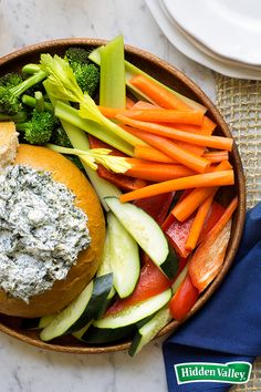 Our Original Ranch Spinach Dip is so big on flavor, no one will ever guess it has just four ingredients. Whip up this quick and easy recipe and serve it as a crowd-pleasing appetizer at your holiday party, or bring it to a potluck.