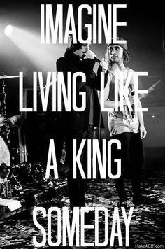 Pierce the Veil. King for a day ♥FT Kellin Quinn from Sleeping With Sirens