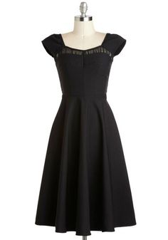 "Oh so lovely... Makes me wanna get all purdy and go out on the town! ""Masterful Monologue Dress, #ModCloth"""
