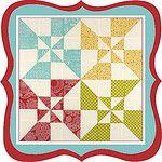 Wishes Quilt Along Pinwheel for Sampler quilt