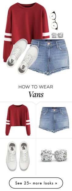 """""""Air"""" by river-rain-water on Polyvore featuring J Brand and Vans"""