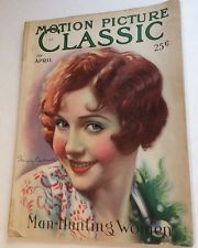 Motion Picture Classic April 1930 Nancy Carroll pretty Flapper girl Hollywood