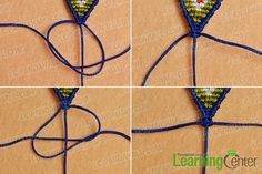 Do you guys want to make a cool braided bracelet? Then just look here, this Pandahall tutorial on how to make ethnic braided friendship bracelet with nylon thread is a perfect choice for you. Friendship Bracelets Designs, Bracelet Designs, Cool Braids, How To Make Necklaces, Braided Bracelets, Loom Beading, Hand Embroidery, Ethnic, Knots