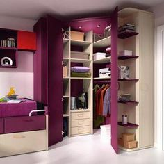 Printer Projects New York Closet Ideas Cases Info: 4747942500 Bedroom Closet Design, Girl Bedroom Designs, Home Room Design, Kids Room Design, Small Room Bedroom, Closet Designs, Room Decor Bedroom, Bedroom Simple, Dressing Room Design