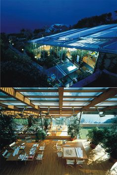 Renzo Piano's office in Punta Nave, 1991. ( http://www.rpbw.com/ )