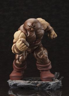 MARVEL COMICS DANGER ROOM SESSIONS THE JUGGERNAUT FINE ART STATUE