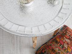 moroccan table for tea. mesa marroquí para el té. dar amïna shop.
