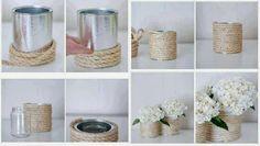 ARTE COM QUIANE - Paps,Moldes,E.V.A,Feltro,Costuras,Fofuchas 3D: reciclagem: Usando latas de leite