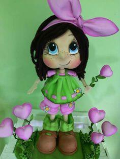 Muñeca corazones