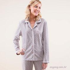 Pijama clássico com toque fofo!