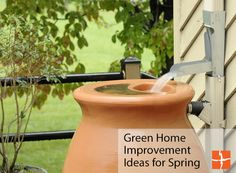If you're anything like us, the idea of spring cleaning is not something to look forward to. Fortunately, we've put together some fun DIY home improvements that will add to your quality of life, and your green cred this spring