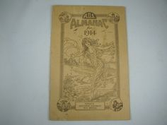 1914 Almanac for American Druggists Syndicate by ARTCPACKRAT on Etsy
