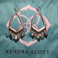 Rare Kendra scott $65 on Mercari. Needing these gone! I never wear and would like something else! Worn one time! No tags because I thought I'd keep them but I have dust bag! Beautiful pair! Just not my taste. Kendra Scott Jewelry Earrings