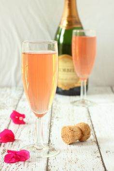 Blood Orange and Champagne Mimosas via Foodness Gracious for Cost Plus World Market >> #WorldMarket Breakfast and Brunch Recipes, Entertainment ideas
