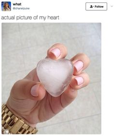 See, I do have a heart.