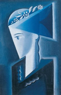 josef Capek: Girl in Shirt, 1916 Abstract Art Images, Abstract Faces, Sculpture Art, Sculptures, Cubist Art, Monochromatic Art, Georges Braque, Gravure, Traditional Art