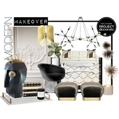 """modern makeover"" by theaestate on Polyvore"
