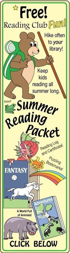 FREE – SUMMER READING KIT – Fun variety of puzzles will help you encourage the special kids in your life to keep reading all summer long. Includes: -- Library Jumbo Maze -- Fantasy Match-Up and Crossword Puzzle -- Fantastic Animals Word Search Puzzle Pal