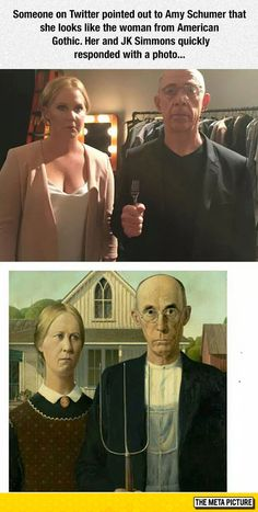 Real Life American Gothic