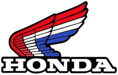 Motos Honda, Honda Bikes, Honda Motorcycles, Cars And Motorcycles, Honda Cx500, Honda Civic, Motocross Logo, Motorcycle Logo, Motocross Bikes