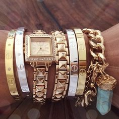 One of each please, especially the chunky chain link w/charm!