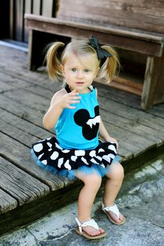 Minnie Mouse Aqua Jumbo Dot Tulle Skirt and Halter sold by Lil Bug Clothing. Shop more products from Lil Bug Clothing on Storenvy, the home of independent small businesses all over the world.