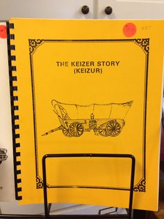 Book available in the Keizer Museum