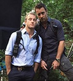 ♥♥♥ BTS #H50 ep 6.01 - Alex O'Loughlin and Scott Caan