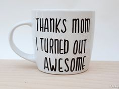 Mother's Day Gift Mug... Can't by it make it your slef use sharpies find out more on the frisky website xx