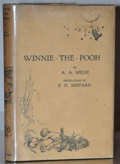 1ST/1ST UK EDITION~ W. ORIGINAL 1ST/1ST DUST JACKET~WINNIE THE POOH~A. A. MILNE | Books, Antiquarian & Collectible | eBay!