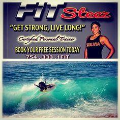 "Silvia ""Steezy"" Garavito #silviagaravito  #skimzone #fitness #silcatsteez #fitsteez"