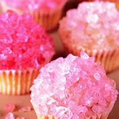 Cupcakes with pop rocks