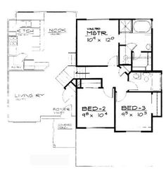 Maison Avec 2 Chambres as well Floor Plans for Round Houses together with Granny Flat together with Small Cottage House Plans Country moreover House Plans. on ranch plans florida
