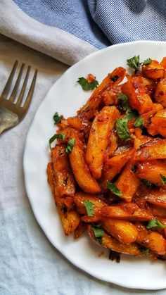 PAPRIKA CUMIN KENYAN CHIPS MASALA / Nairobi Kitchen Slimming World Vegetarian Recipes, Healthy Egg Recipes, Spicy Recipes, Vegetarian Food, Vegan Recipes, Masala Chips, Best Chips, Good Food, Yummy Food