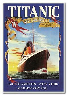 Titanic White Star Line Cruise Ship Vintage Poster Art Pr... https://www.amazon.com/dp/B00XHKNX1S/ref=cm_sw_r_pi_dp_x_aIvlybB1AE2JQ