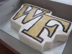 Wake Forest groom's cake