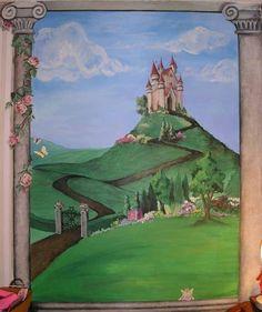 Princess's Castle - Mural Idea in North Wales PA