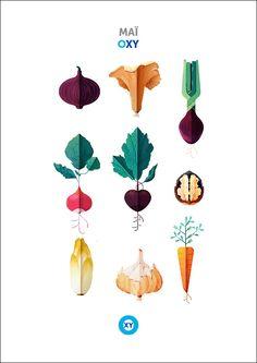 MAÏ / Illustration / vegetables